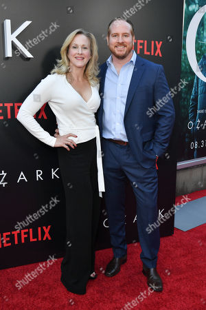 Katie Finneran and Darren Goldstein