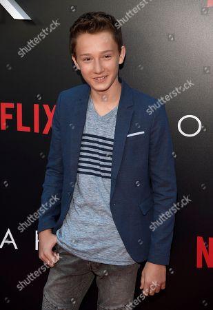 """Skylar Gaertner arrives at a special screening of """"Ozark"""" Season 2 at Arclight Hollywood, in Los Angeles"""
