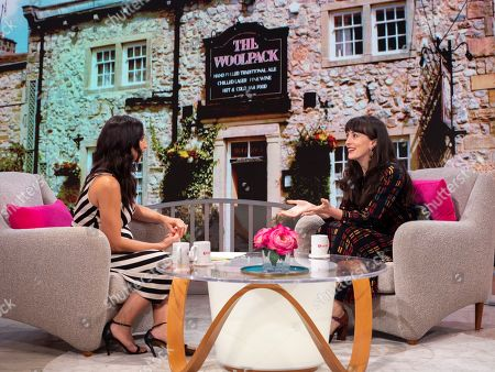 Christine Lampard and Hedydd Dylan