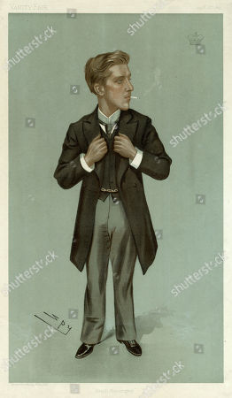 Henry Algernon George Percy Earl Percy (1871 - 1909) Lord Warkworth Until 1899 Was A British Conservative Politician. He Held Political Office Under Arthur Balfour As Under-secretary of State For India and Under-secretary of State For Foreign Affairs Before His Early Death in 1909. Caricature by Spy in Vanity Fair, 1897