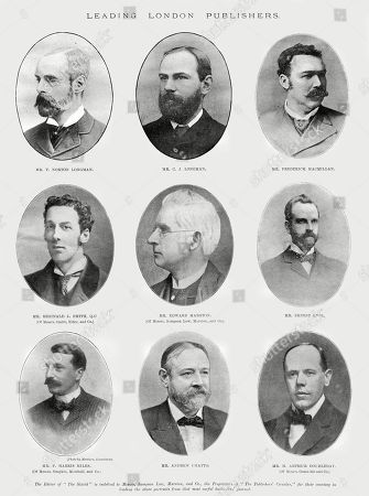 Editorial image of Leading London Publishers in 1899