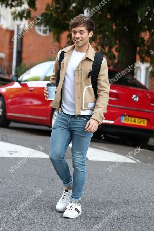 Editorial image of Tom Daley out and about, London, UK - 24 Aug 2018