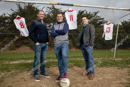 Pictured is Kevin Hughes, Brian McGuigan and Mark Harte who have teamed up today to announce the documentary TÍR EOGHAIN: THE UNBREAKABLE BOND which will air this Sunday August 26th at 8.30pm on TG4. The EMM Production tells the story of how Mickey Harte?s minor teams of 1997 and 1998, despite the despairing lows, went on to drive their county to three All Ireland senior titles. Ahead of next week?s All Ireland final against Dublin, Journalist Eamon Mallie?s documentary examines how a county that had failed to win Sam Maguire before 2003 found the belief to become champions.