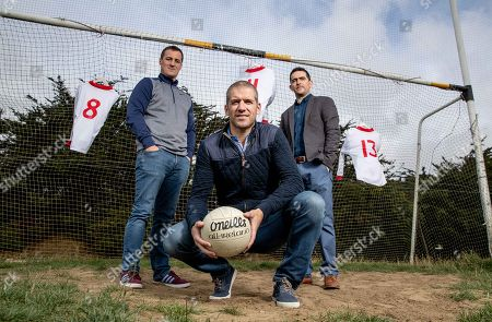 Pictured is Brian McGuigan, Kevin Hughes and Mark Harte who have teamed up today to announce the documentary TÍR EOGHAIN: THE UNBREAKABLE BOND which will air this Sunday August 26th at 8.30pm on TG4. The EMM Production tells the story of how Mickey Harte?s minor teams of 1997 and 1998, despite the despairing lows, went on to drive their county to three All Ireland senior titles. Ahead of next week?s All Ireland final against Dublin, Journalist Eamon Mallie?s documentary examines how a county that had failed to win Sam Maguire before 2003 found the belief to become champions.