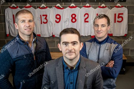 Pictured is Kevin Hughes, Mark Harte and Brian McGuigan who have teamed up today to announce the documentary TÍR EOGHAIN: THE UNBREAKABLE BOND which will air this Sunday August 26th at 8.30pm on TG4. The EMM Production tells the story of how Mickey Harte?s minor teams of 1997 and 1998, despite the despairing lows, went on to drive their county to three All Ireland senior titles. Ahead of next week?s All Ireland final against Dublin, Journalist Eamon Mallie?s documentary examines how a county that had failed to win Sam Maguire before 2003 found the belief to become champions.