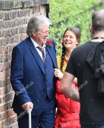 Hannah Ellis Ryan joins Coronation Street to play Katie McDonald, She is pictured with Charlie Lawson who plays Jim McDonald
