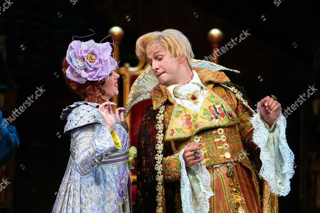 Stock Picture of Nikolay Borchev, Dandini  Katherine Aitken, Tisbe