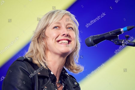 Stock Picture of Carole Cadwalladr at Collusion: With Carole Cadwalladr and Luke Harding, at Byline Festival