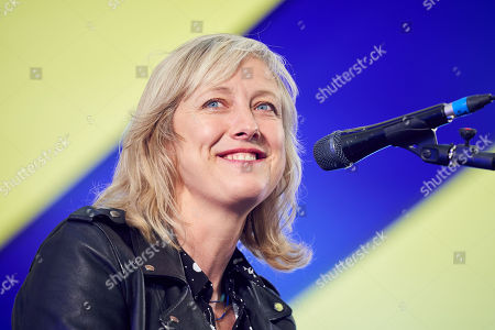 Stock Image of Carole Cadwalladr at Collusion: With Carole Cadwalladr and Luke Harding, at Byline Festival