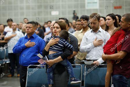 Naturalization ceremony Los Angeles Stock Photos (Exclusive