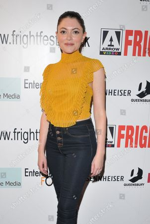 Editorial image of 'St. Agatha' film premiere, Arrow Video FrightFest, London, UK - 24 Aug 2018