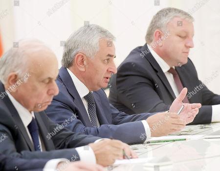 Stock Photo of Abkhazian president Raul Khajimba