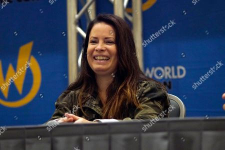 Holly Marie Combs seen on Day 1 at Wizard World Comic-Con at the Donald E Stephens Convention Center, in Rosemont, IL
