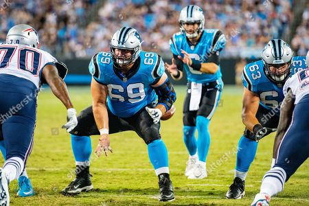 Editorial picture of NFL Patriots vs Panthers, Charlotte, USA - 24 Aug 2018