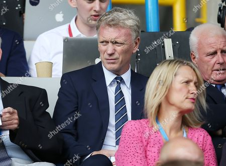 David Moyes looks on from the stand