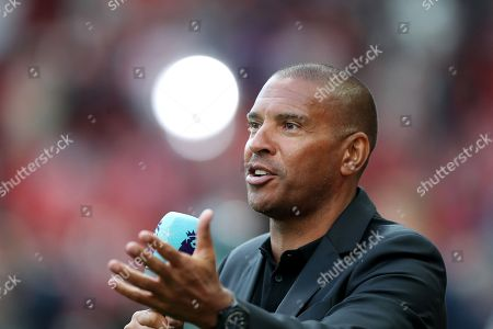 Stock Image of TV Pundit Stan Collymore