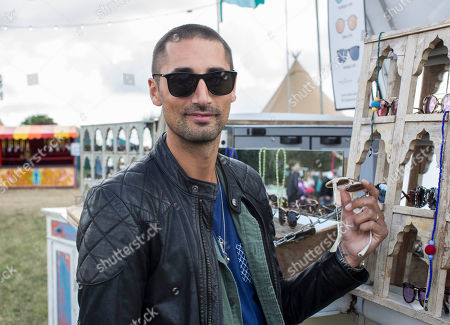 Made in Chelsea personality Hugo Taylor pictured at the Big Feastival.