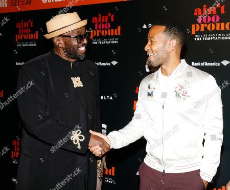 Otis Williams and John Legend