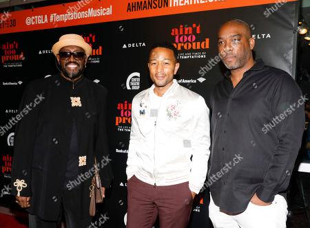 Otis Williams, John Legend and Mike Jackson