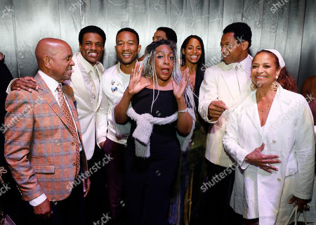 Editorial image of 'Ain't Too Proud: The Life and Times of The Temptations' musical opening, Los Angeles, USA - 25 Aug 2018