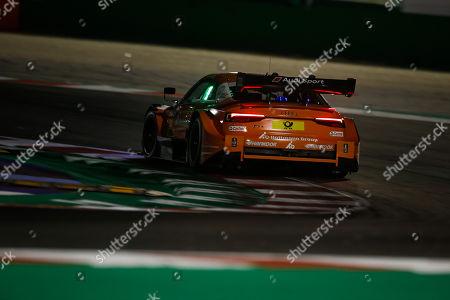 Stock Image of Motorsports: DTM race Misano, Saison 2018 - 7. Event Misano, ITA, Jamie Green ( GB, Audi Sport Team Rosberg )