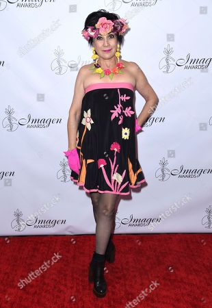 Stock Photo of Dyana Ortelli arrives at the 33rd annual Imagen Awards, at the JW Marriott L.A. Live in Los Angeles
