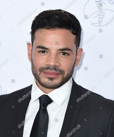 Rene Rosado arrives at the 33rd annual Imagen Awards, at the JW Marriott L.A. Live in Los Angeles