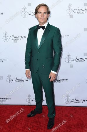 Phillip P. Keene arrives at the 33rd annual Imagen Awards, at the JW Marriott L.A. Live in Los Angeles