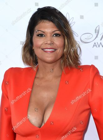 Aida Rodriguez arrives at the 33rd annual Imagen Awards, at the JW Marriott L.A. Live in Los Angeles