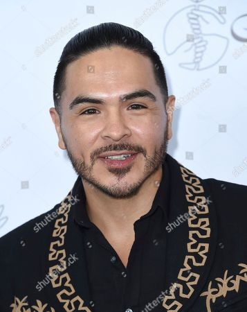 Gilbert Saldivar arrives at the 33rd annual Imagen Awards, at the JW Marriott L.A. Live in Los Angeles