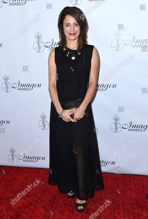 Alanna Ubach arrives at the 33rd annual Imagen Awards, at the JW Marriott L.A. Live in Los Angeles