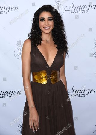 Stock Photo of Karina Ortiz arrives at the 33rd annual Imagen Awards, at the JW Marriott L.A. Live in Los Angeles