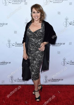 Eliana Alexander arrives at the 33rd annual Imagen Awards, at the JW Marriott L.A. Live in Los Angeles
