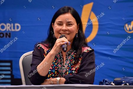 Stock Photo of Diana Gabaldon seen on Day 2 at Wizard World Comic-Con at the Donald E Stephens Convention Center, in Rosemont, Ill