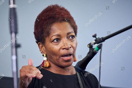 Stock Picture of Bonnie Greer OBE at The Media Circus