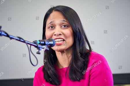 Stock Photo of Rushanara Ali MP at The Media Circus