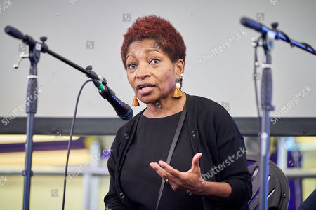 Stock Photo of Bonnie Greer OBE at The Media Circus