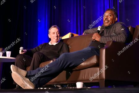 Ernie Hudson, Ivan Reitman. Ernie Hudson and Ivan Reitman seen on Day 2 at Wizard World Comic-Con at the Donald E Stephens Convention Center, in Rosemont, IL
