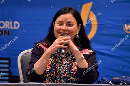 Stock Picture of Diana Gabaldon seen on Day 2 at Wizard World Comic-Con at the Donald E Stephens Convention Center, in Rosemont, IL