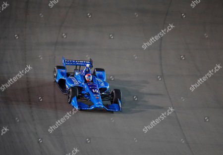 Ed Jones drives during an IndyCar auto race at Gateway Motorsports Park, in Madison, Ill