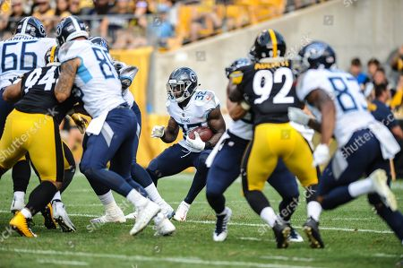 Editorial image of NFL Steelers vs Titans, Pittsburgh, USA - 25 Aug 2018