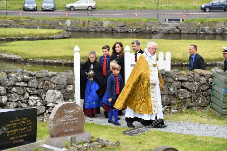 Editorial image of Danish Royals visit to the Faroe Islands, Denmark - 26 Aug 2018