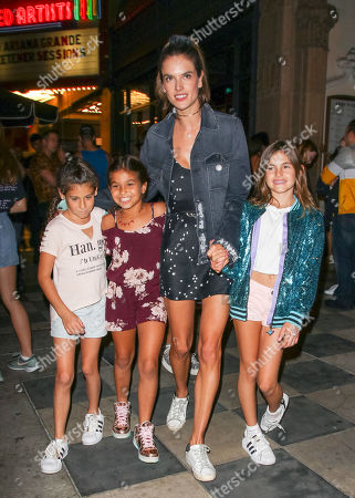 Alessandra Ambrosio and her daughter Anja Louise Mazur