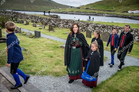Editorial picture of The Danish Crown Prince Frederik and Mary visit the Faroe Islands, Sandavagi - 26 Aug 2018