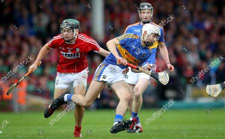 Cork vs Tipperary. Cork's Mark Coleman and Craig Morgan of Tipperary