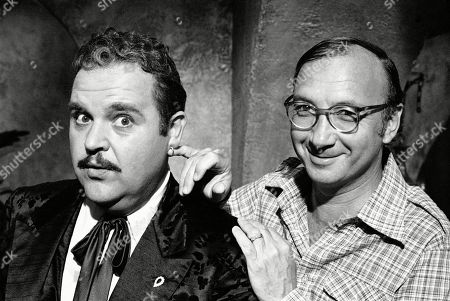 "Neil Simon, Dom DeLuise. Playwright Neil Simon, right, poses for a photo on the set of ""The Cheap Detective"" with Dom DeLuise. Simon, a master of comedy whose laugh-filled hits such as ""The Odd Couple,"" ""Barefoot in the Park"" and his ""Brighton Beach"" trilogy dominated Broadway for decades, died on . He was 91"