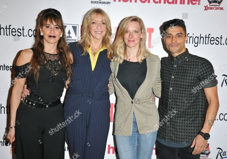 Candis Nergaard, Sharon Maughan, Shauna Macdonald and Paul Rashid