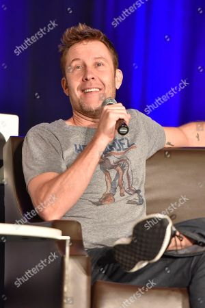 Stock Photo of Michael Rosenbaum seen on Day 3 at Wizard World Comic-Con at the Donald E Stephens Convention Center, in Rosemont, IL