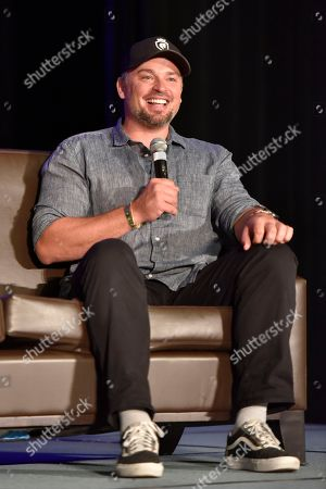 Stock Picture of Tom Welling seen on Day 3 at Wizard World Comic-Con at the Donald E Stephens Convention Center, in Rosemont, IL