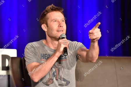 Stock Image of Michael Rosenbaum seen on Day 3 at Wizard World Comic-Con at the Donald E Stephens Convention Center, in Rosemont, IL